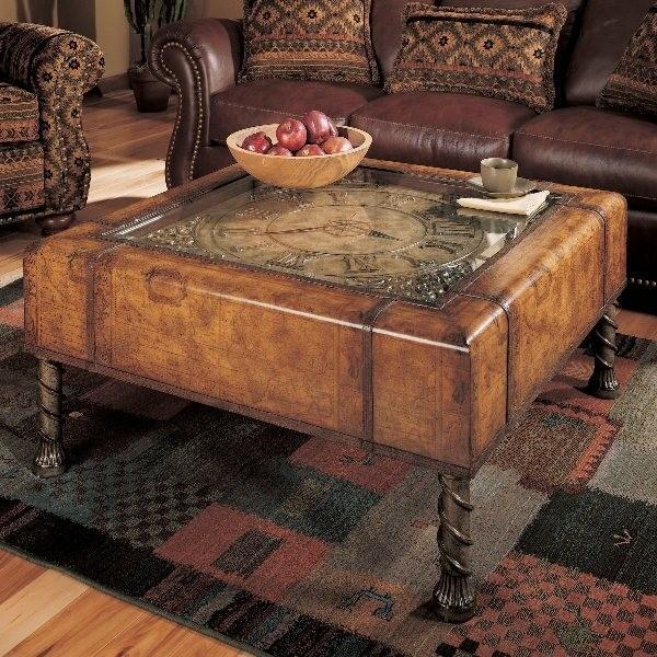 horloge collection table basse. Black Bedroom Furniture Sets. Home Design Ideas