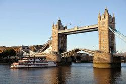 La largeur de la Tamise à Londres - informatif