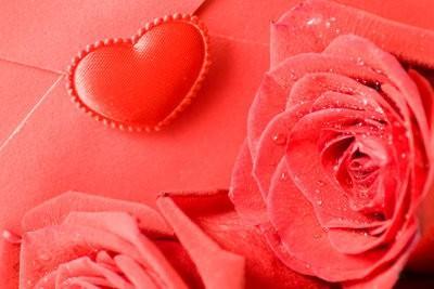 Félicitations pour la Fête de la Saint-Valentin - afin rendent romantique et individuellement