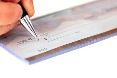 Émission des chèques - il vous faut payer