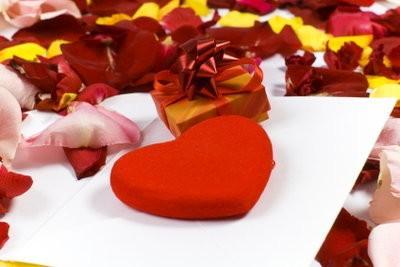 Quand un homme est dans l'amour - si vous écrivez une lettre d'amour romantique
