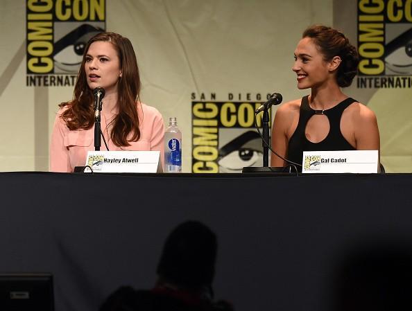 «Agent Carter 'Star Hayley Atwell répond à sexisme au Comic-Con
