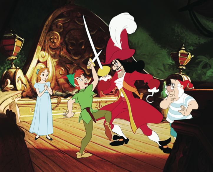 The Real Peter Pan (vous!)