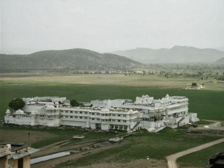 """Le """"flottant"""" Lake Palace d'Udaipur"""