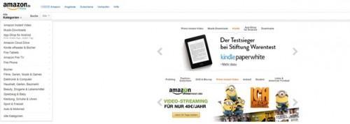 Demande d'avis de réception pour Amazon