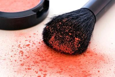 Face painting - donc porter Rouge droite sur