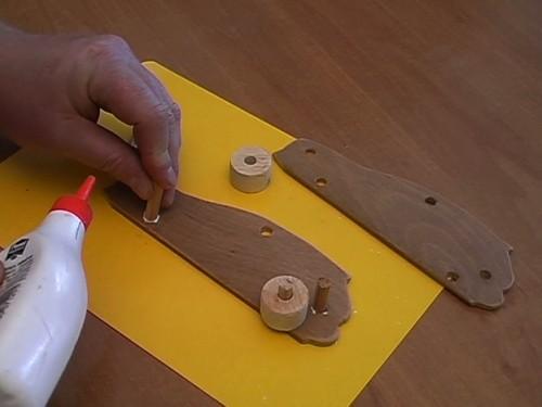 Construire des voitures en bois lui-même