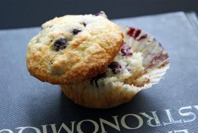 Lemon Blueberry Muffins - sans gluten!