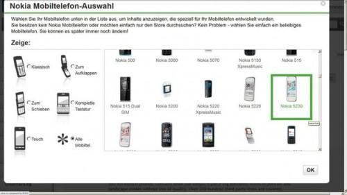 Applications pour Nokia 5230 - afin d'installer correctement