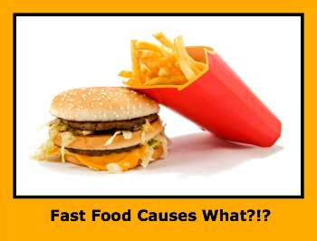 Fast food Causes?  Un Surprenant New Link.