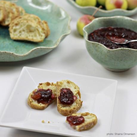 Sauce aux canneberges et Relish Recettes pour Thanksgiving