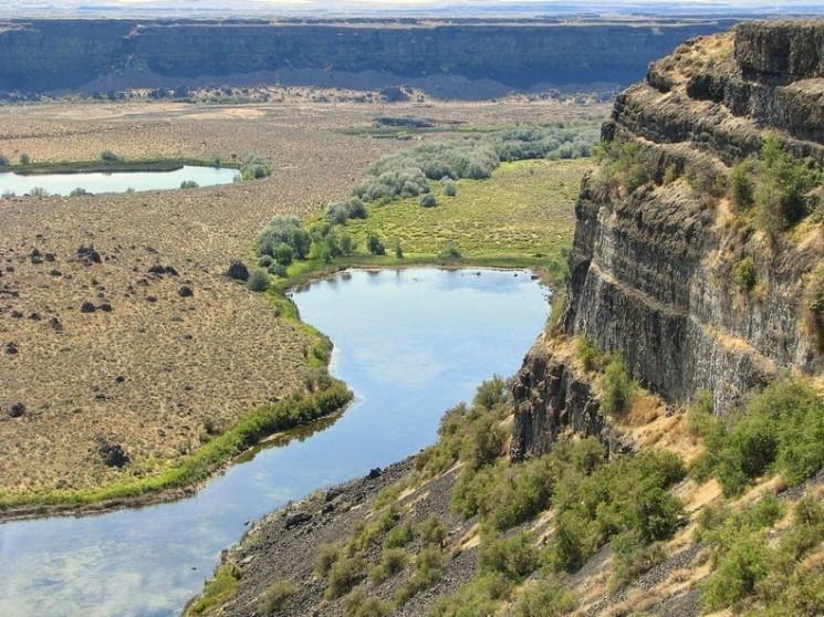 Chutes à sec: la plus grande cascade qu'il n'y a plus