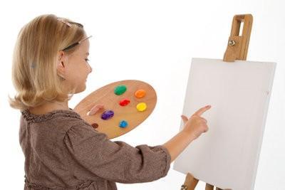 Faire des peintures murales dans les enfants eux-mêmes - Instructions