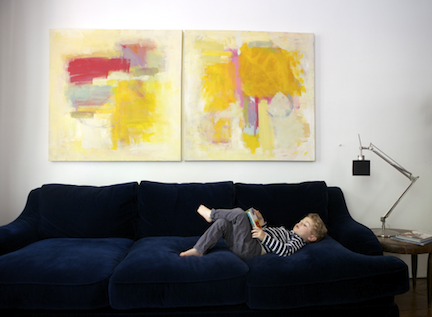 Home Decor Bricolage - Make Your Own Art Toile
