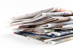 Construire Zeitungsständer lui-même - comment cela fonctionne: