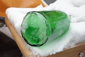 Expériences avec de la neige et de la glace à la maternelle - Exemples