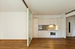 Dans Bauhaus portes coulissantes installés - comment cela fonctionne: