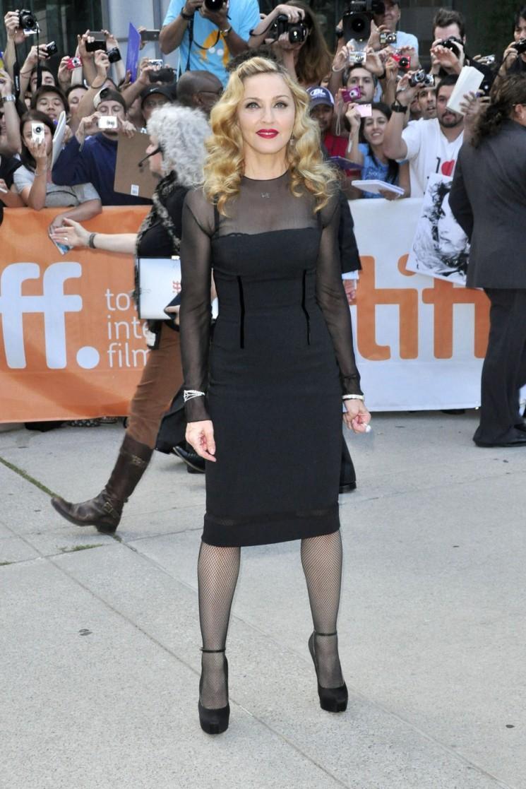 Madonna Saint!  Elle pourrait ne pas être de Nice, mais elle ressemble beaucoup dans ces photos (Au TIFF)