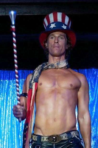 """McConaughey vs.  Bomer dans le film """"Magic Mike"""" - Quels Matt décapage à chaud?"""