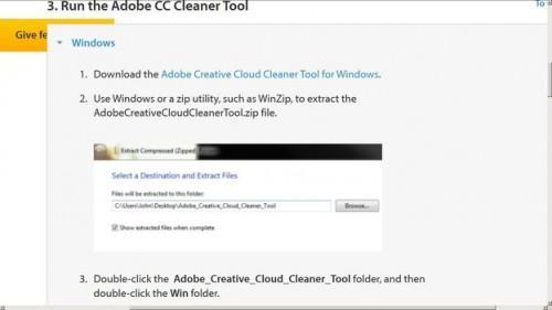 Désinstallez Adobe Photoshop pour Windows 7 - donc ça va fonctionner correctement