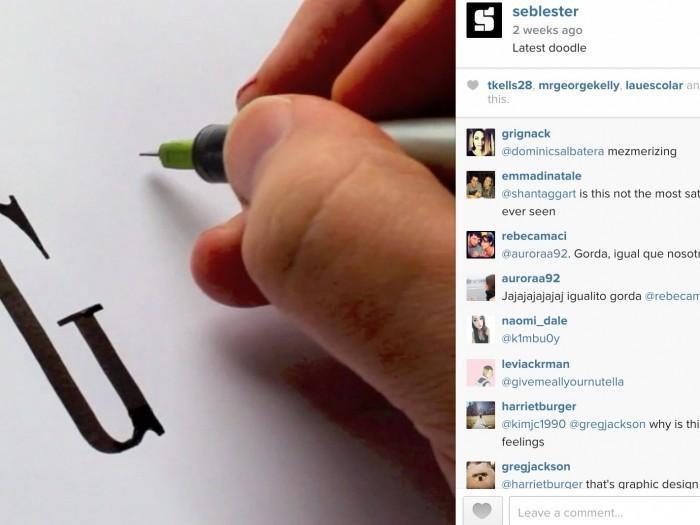 Regarder logo calligraphie est très hypnotique, il se trouve