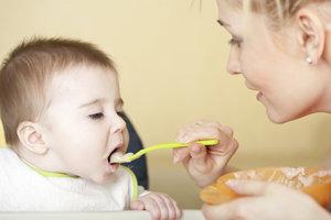 Passer à la nourriture pour bébé - informatif