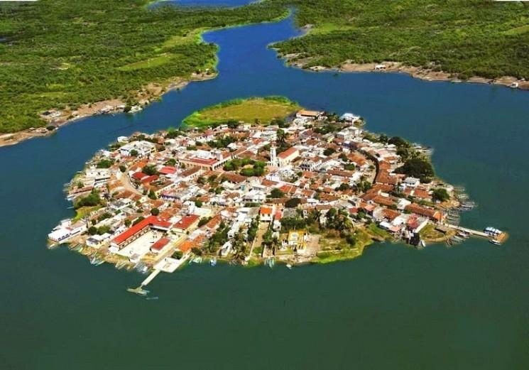 Mexicaine Venise: L'île de Mexcaltitán