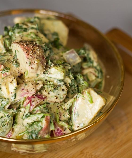 10 Recettes de pommes de terre de salade pour le Memorial Day
