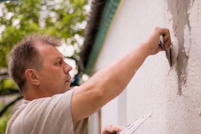 Rugueux réparation de plâtre - si vous le faites correctement