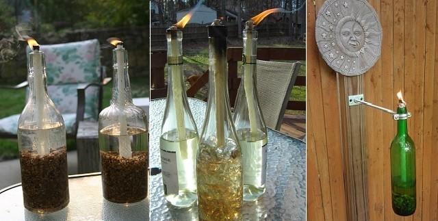 Comment Faire Une Bouteille De Vin Tiki Torch Beevar Com