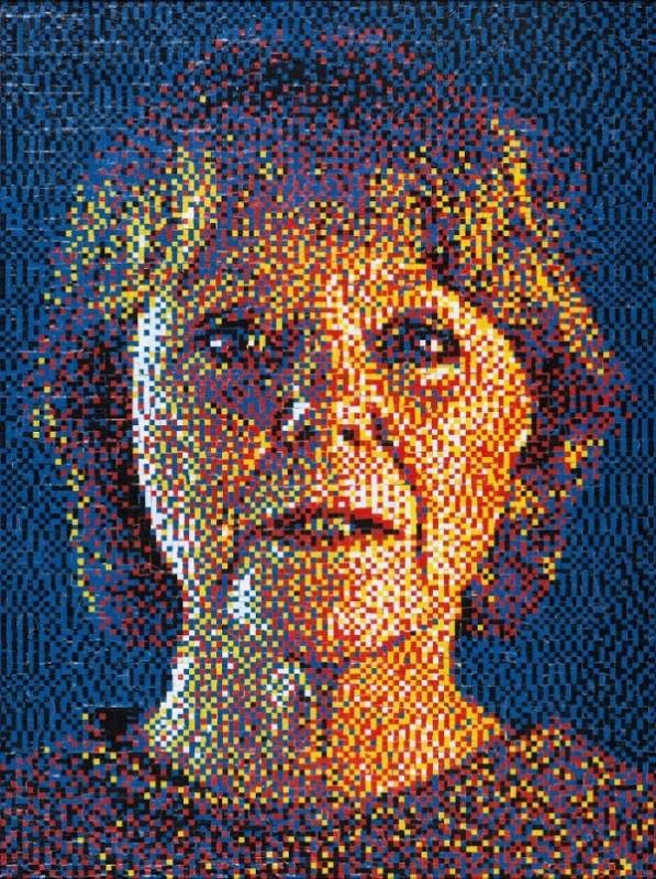 Punaise Portraits par Eric Daigh