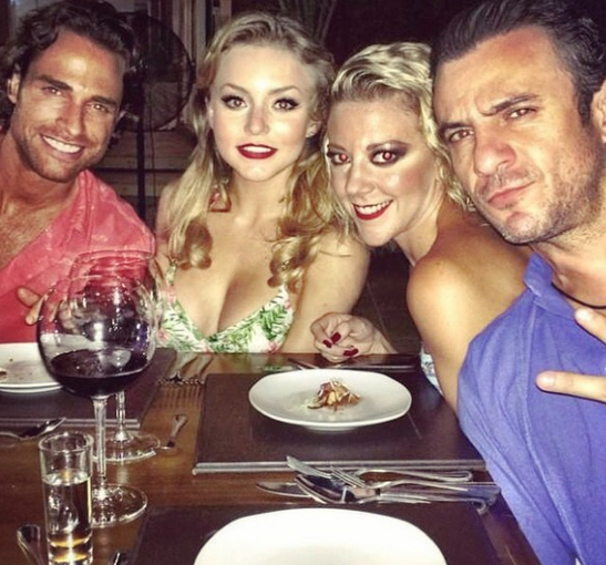 Angelique Boyer & Sebastián Rulli Confirmez relations, partager des photos Ensemble