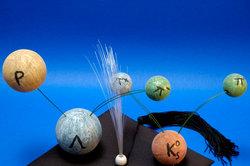 Désintégration d'un atome