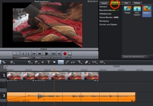 Magix Movie Edit Pro - si vous coupez votre film