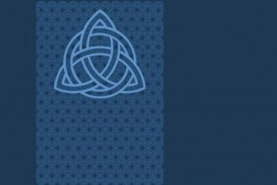 Triangle - qui signifie le tatouage avec l'origine celtique