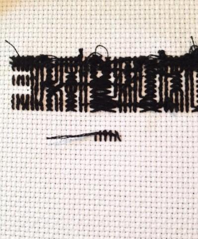 DIY de la semaine: Foxy Cross-Stitch