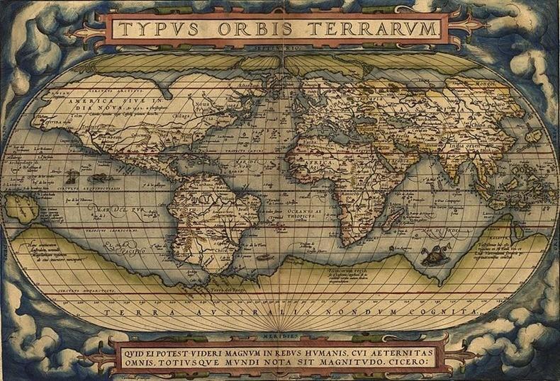 Carte Du Monde 15ème Siècle | casamagenta
