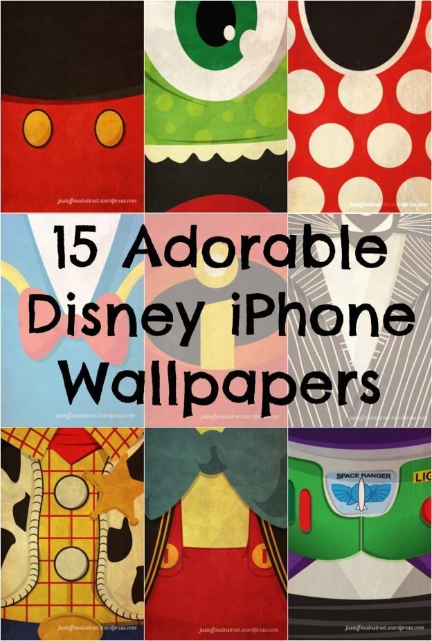 15 Personnages Emblematiques De Disney Que L Iphone Fonds D