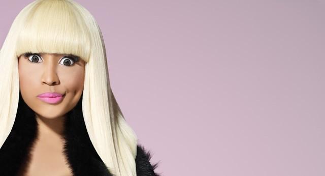 Joyeux anniversaire Nicki Minaj!  Célébrons avec Nicki GIF-réaction