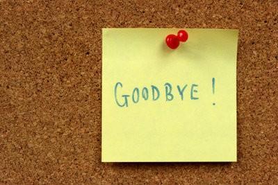 Pour écrire une lettre d'adieu à ses collègues