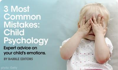 3 erreurs les plus communes: Psychologie de l'enfant