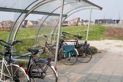 Construire un abri vélo lui-même - comment cela fonctionne:
