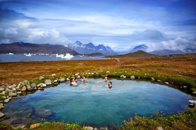 Uunartoq Hot Springs au Groenland