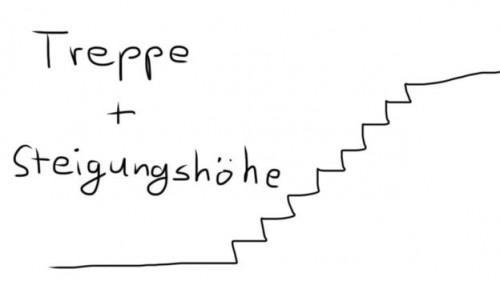 calculer les escaliers de sorte que vous pouvez trouver la hauteur de la pente beevar