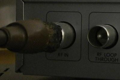 Étendre câble d'antenne