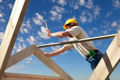 Construire auvent bois lui-même - comment cela fonctionne: