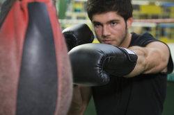 Effet saisissant - le punching-ball dans la formation