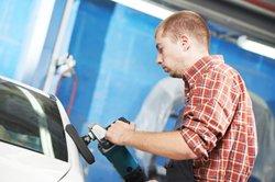 Modifier avec polissage peinture de voiture de pâte - comment cela fonctionne: