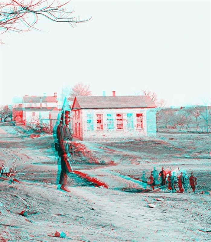 150 Ans 3D Photos de la guerre civile