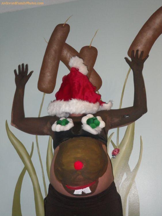 Entrez dans l'esprit avec des bosses de Belly Christmas-Inspired
